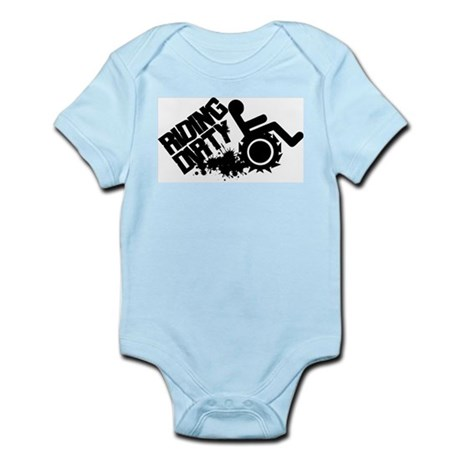 Riding Dirty Infant Bodysuit