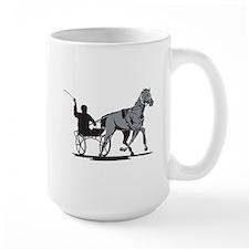 Horse and Jockey Harness Racing Mug