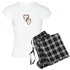Vincent and Catherine Two Hearts Pajamas