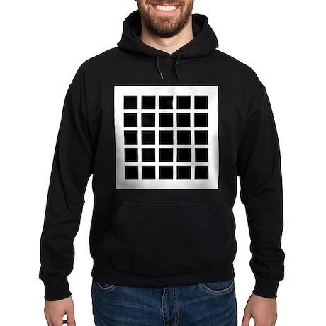 Hermann grid - Hoodie (dark)