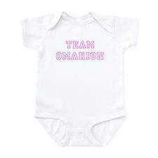 Pink team Omarion Infant Bodysuit