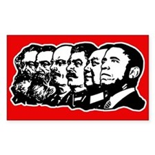 Obama the Communist Decal