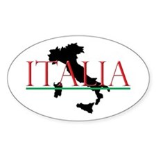 Italia: Italian Boot Decal