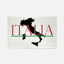 Italia: Italian Boot Rectangle Magnet