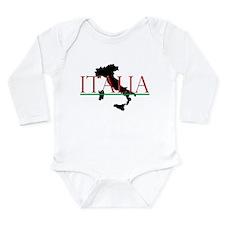 Italia Star 2 Long Sleeve Infant Bodysuit
