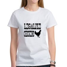 Legalize Chickens Tee