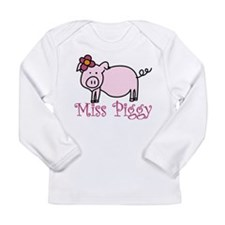 Miss Piggy Long Sleeve Infant T-Shirt