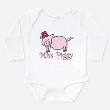 Miss Piggy Long Sleeve Infant Bodysuit