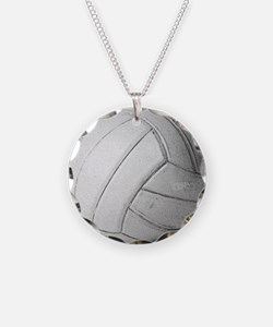 Simply Volleyball Necklace