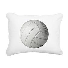 Simply Volleyball Rectangular Canvas Pillow