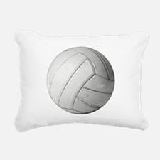 Simply Volleyball Rectangular Canvas Pillow