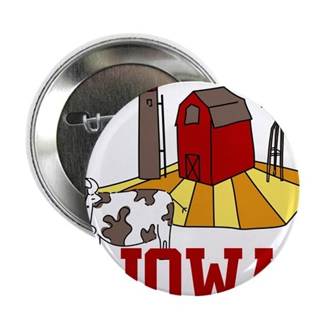 "Iowa 2.25"" Button"