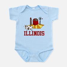 Illinois Infant Bodysuit