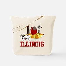 Illinois Tote Bag