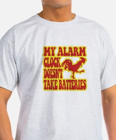 Rooster Alarm Clock T-Shirt