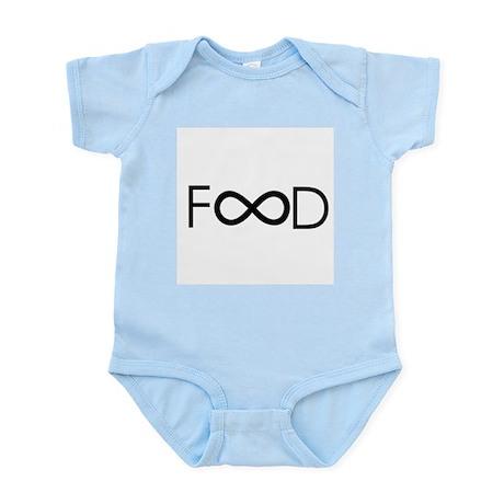 food is forever Infant Bodysuit