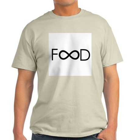 food is forever Light T-Shirt