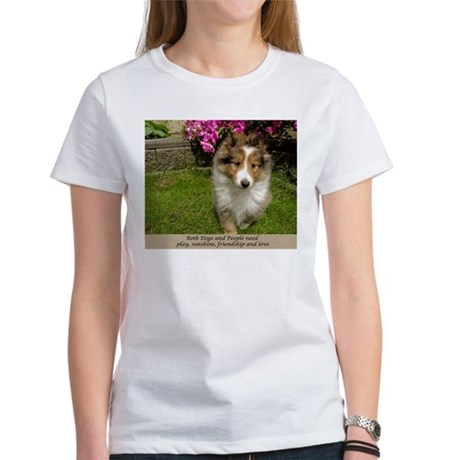 Dogs and People Women's T-Shirt