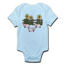 Oink Oink Infant Bodysuit