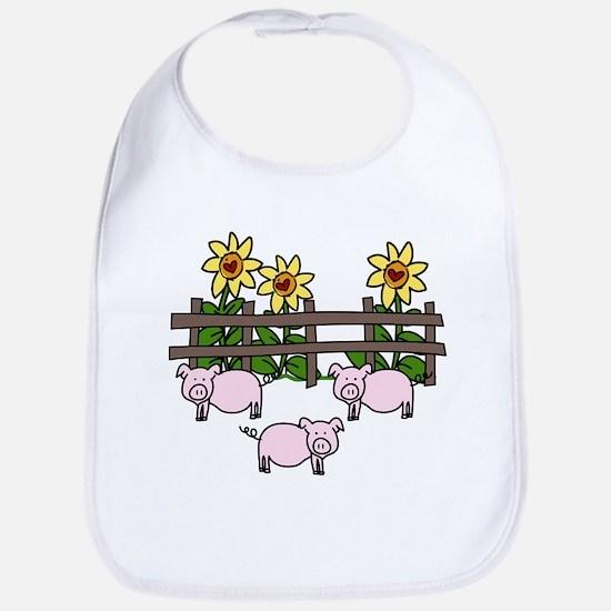 Oink Oink Bib