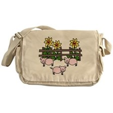 Oink Oink Messenger Bag