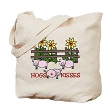 Hogs + Kisses Tote Bag