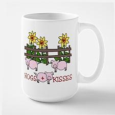Hogs + Kisses Mug