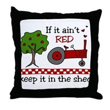 Keep it in the Shed Throw Pillow