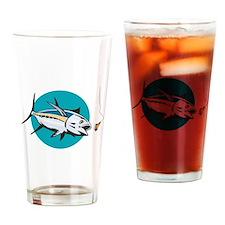 Albacore Tuna Fish Retro Drinking Glass