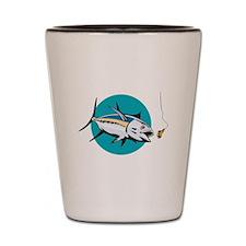 Albacore Tuna Fish Retro Shot Glass