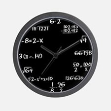 Funny Science Wall Clock