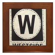 WESTSIDE Framed Tile