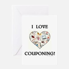 I LOVE COUPONING! Greeting Card