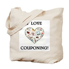 I LOVE COUPONING! Tote Bag