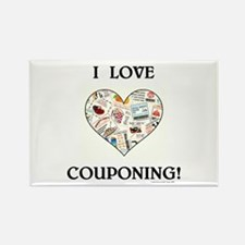 I LOVE COUPONING! Rectangle Magnet