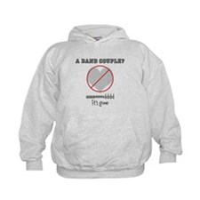 No Band Couples Hoodie