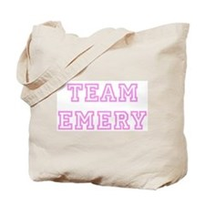 Pink team Emery Tote Bag