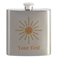 Summer Sun with Text. Flask