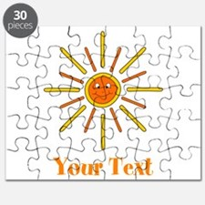 Summer Sun with Text. Puzzle