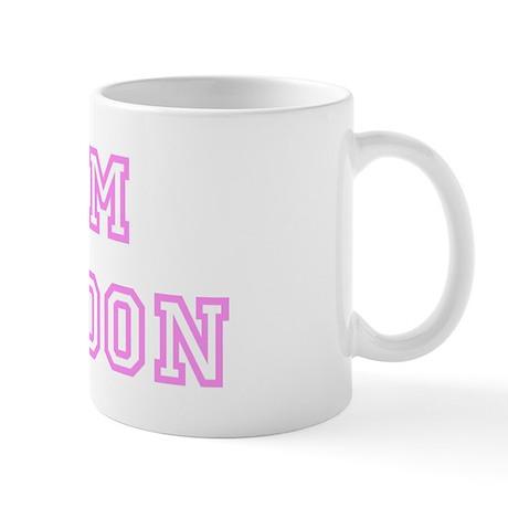 Pink team Braydon Mug