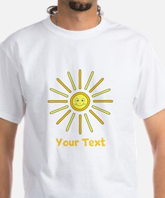 Happy Summer Sun and Text. Shirt