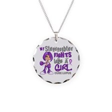 Fights Like a Girl 42.9 Lupus Necklace