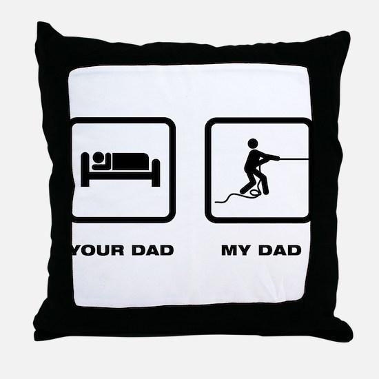 Tug Of War Throw Pillow
