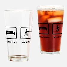 Tug Of War Drinking Glass