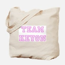 Pink team Keyon Tote Bag