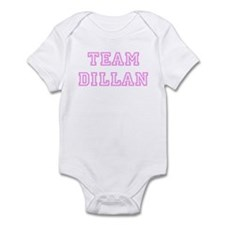 Pink team Dillan Infant Bodysuit