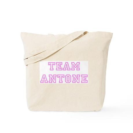 Pink team Antone Tote Bag