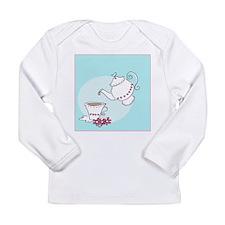 tea set - Long Sleeve Infant T-Shirt