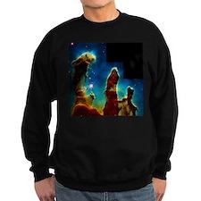 Gas pillars in Eagle Nebula - Sweatshirt