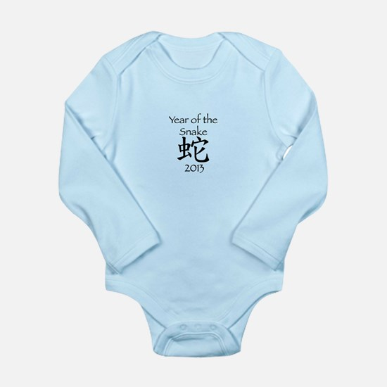 Chinese New Year 2013 Long Sleeve Infant Bodysuit